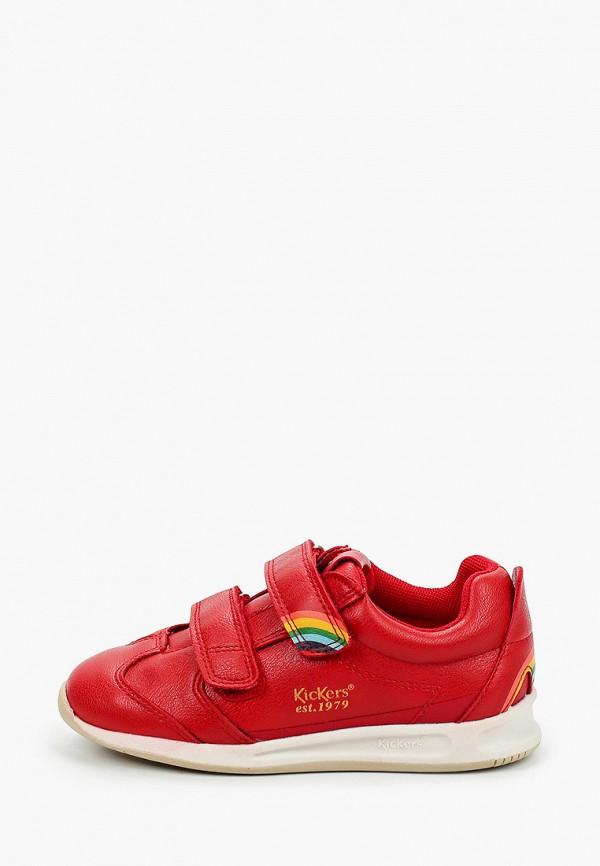 кроссовки kickers малыши, красные