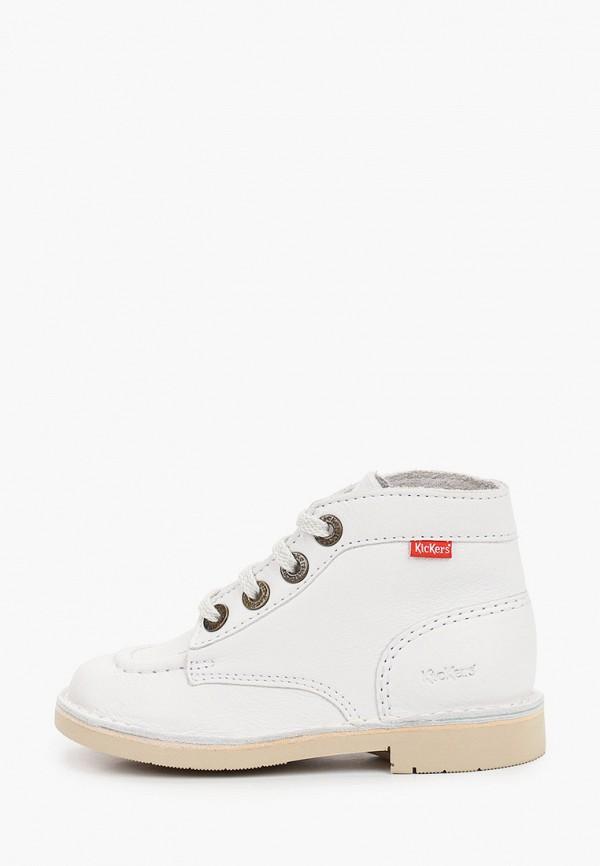 ботинки kickers малыши, белые
