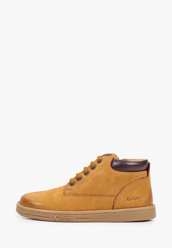 ботинки kickers малыши, коричневые