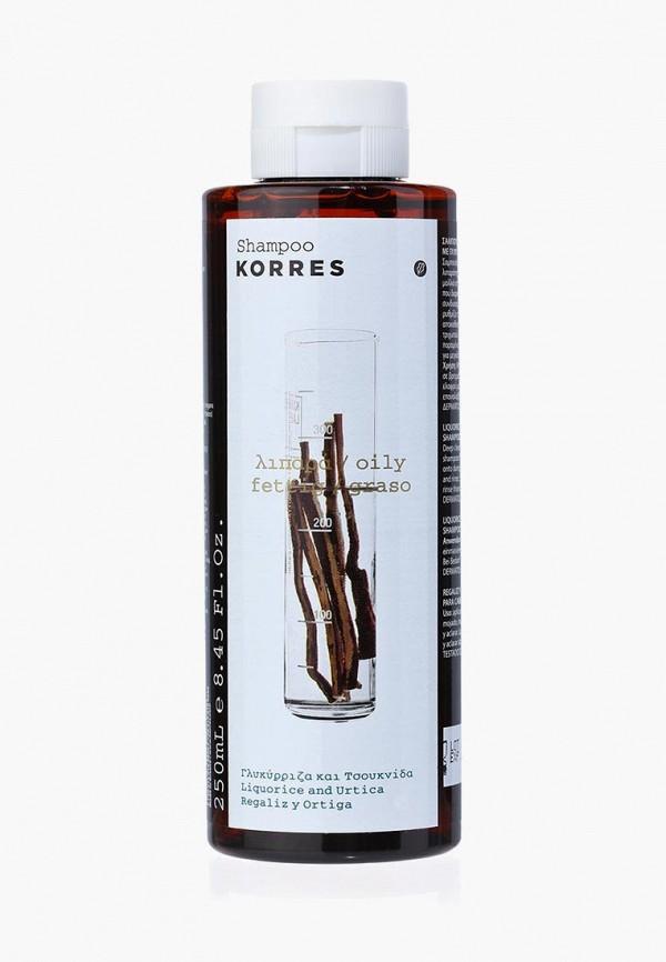 Шампунь Korres Korres KO003LUAOE31 korres korres питательный бальзам для губ дикая роза