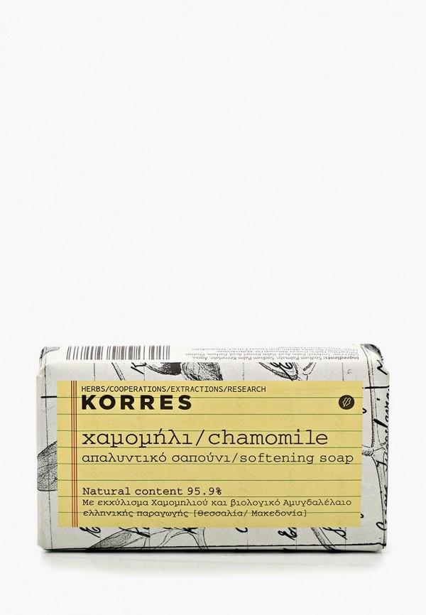 Купить Мыло Korres, с ромашкой 125 г, KO003LUEG212, белый, Осень-зима 2018/2019