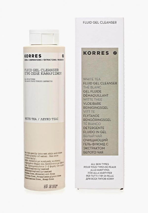 Гель для умывания Korres Korres KO003MWHL447 korres korres питательный бальзам для губ дикая роза