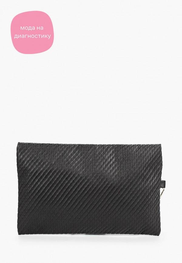 женский клатч koton, черный