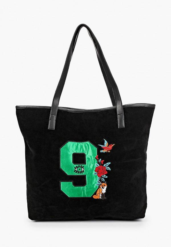 женская сумка-шоперы koton, черная
