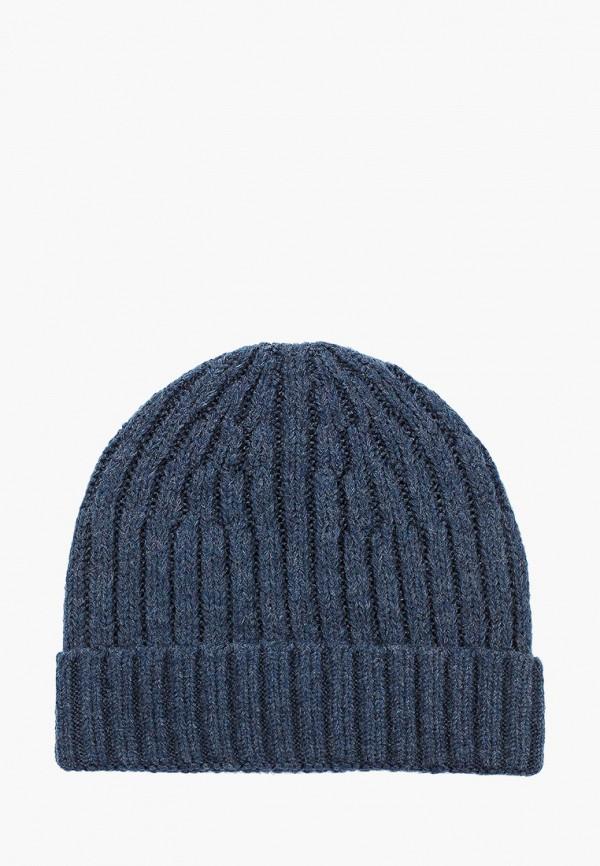 мужская шапка koton, синяя