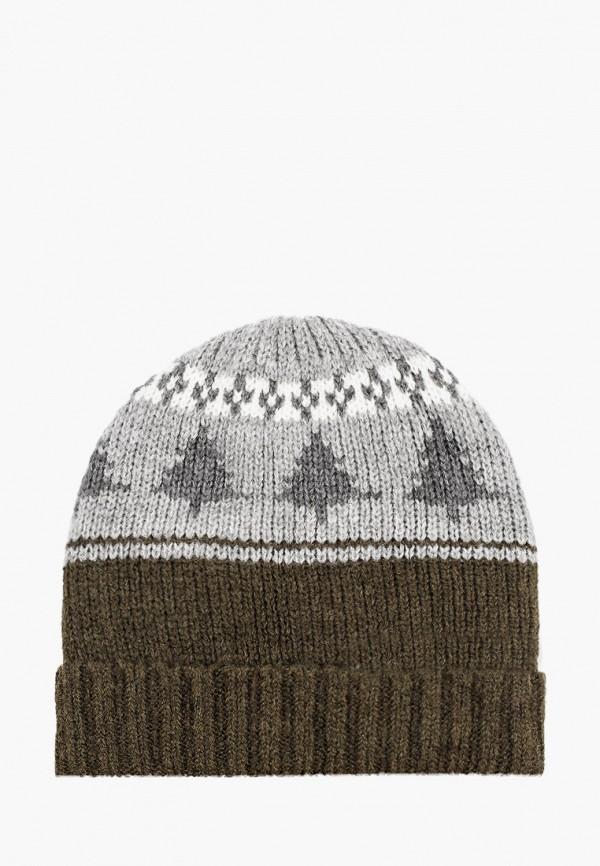 мужская шапка koton, хаки