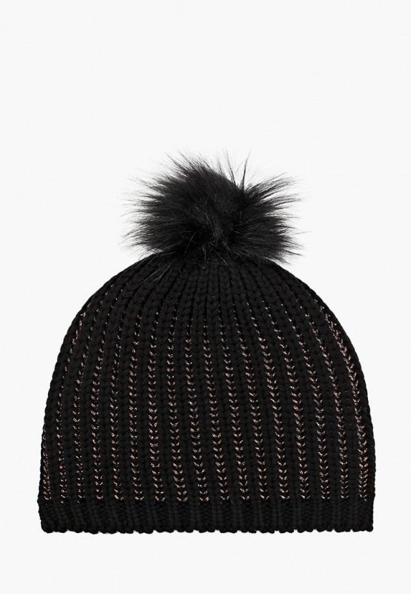женская шапка koton, черная