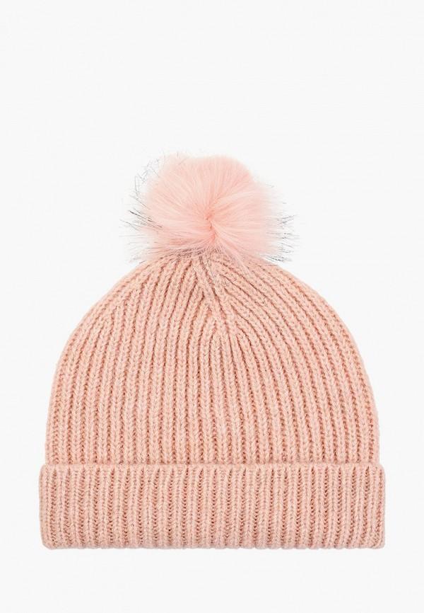женская шапка koton, розовая