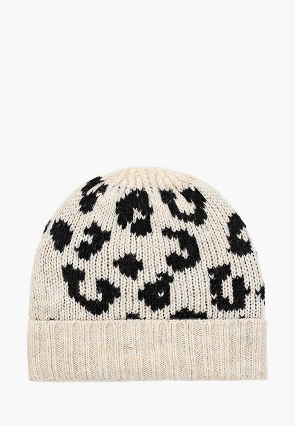 женская шапка koton, бежевая