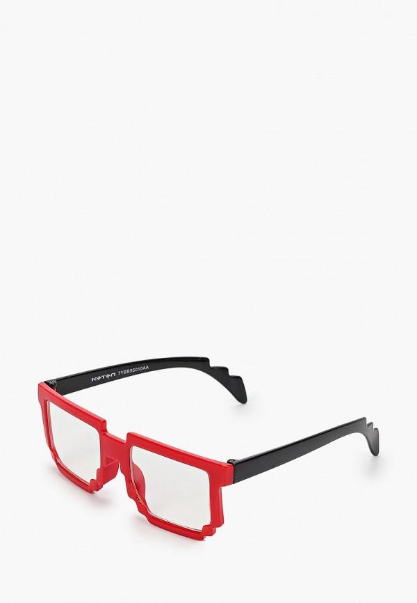 солнцезащитные очки koton для мальчика, красные
