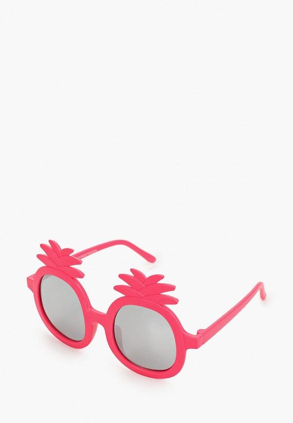 солнцезащитные очки koton для девочки, розовые