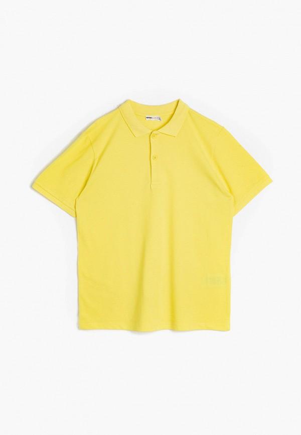 поло koton для мальчика, желтое