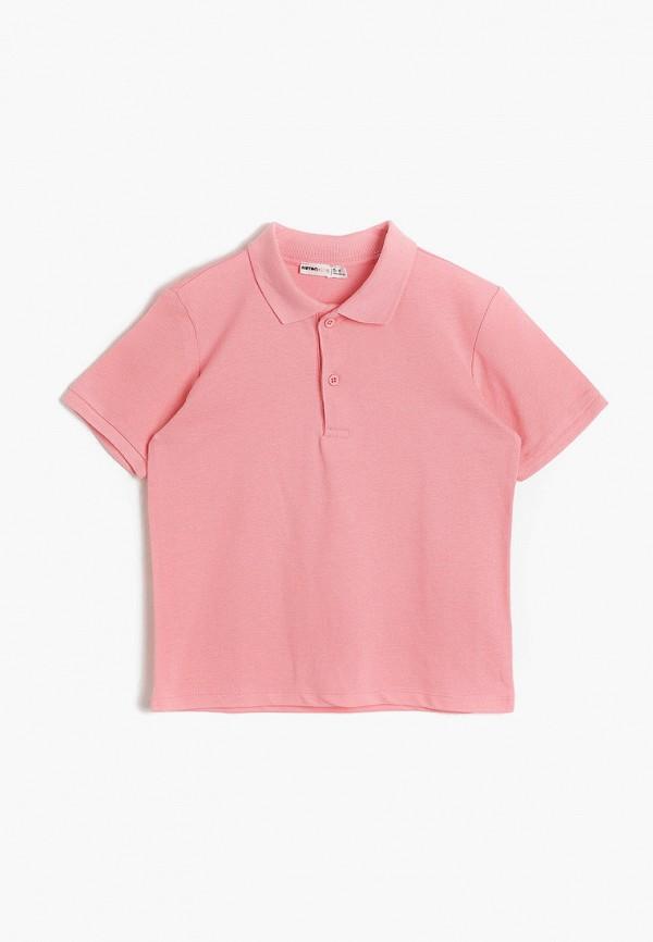 поло koton для мальчика, розовое