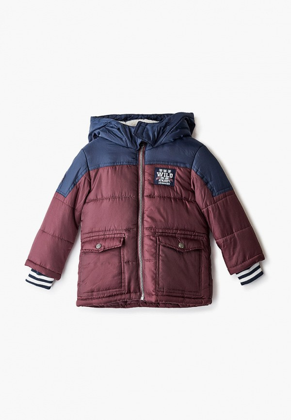 куртка koton для мальчика, бордовая