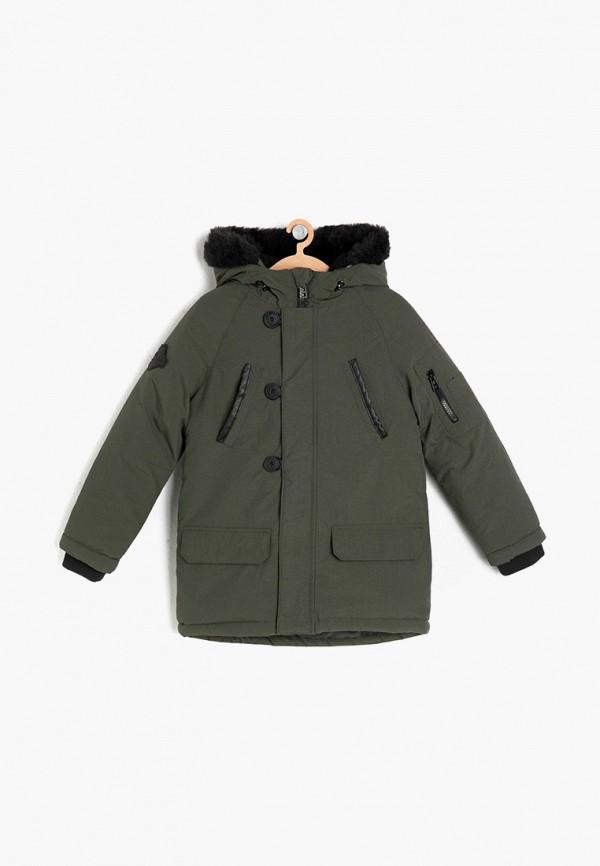 куртка koton для мальчика, хаки
