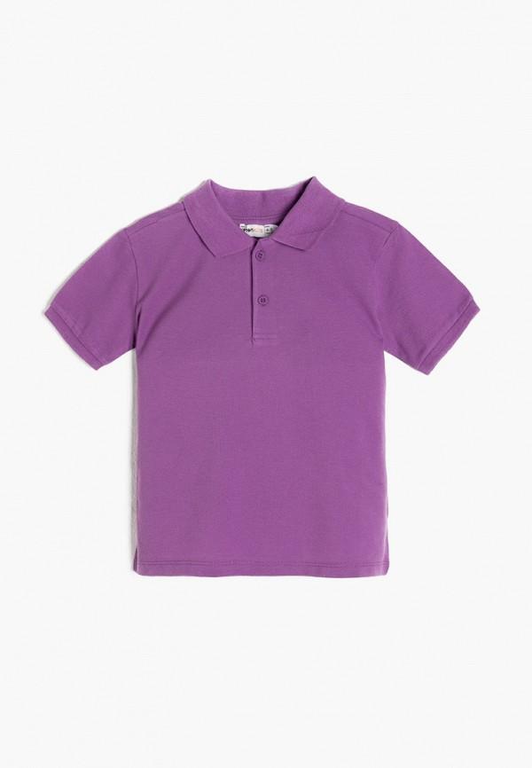 поло koton для мальчика, фиолетовое