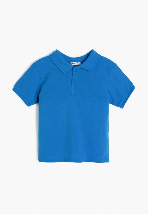 поло koton для мальчика, синее