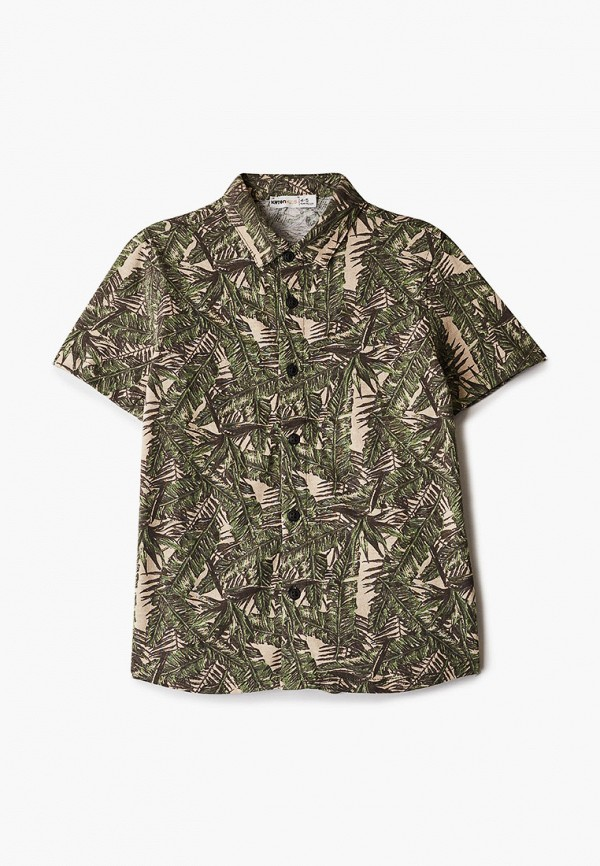 рубашка koton для мальчика, синяя
