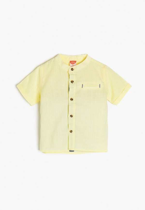 рубашка koton для мальчика, желтая