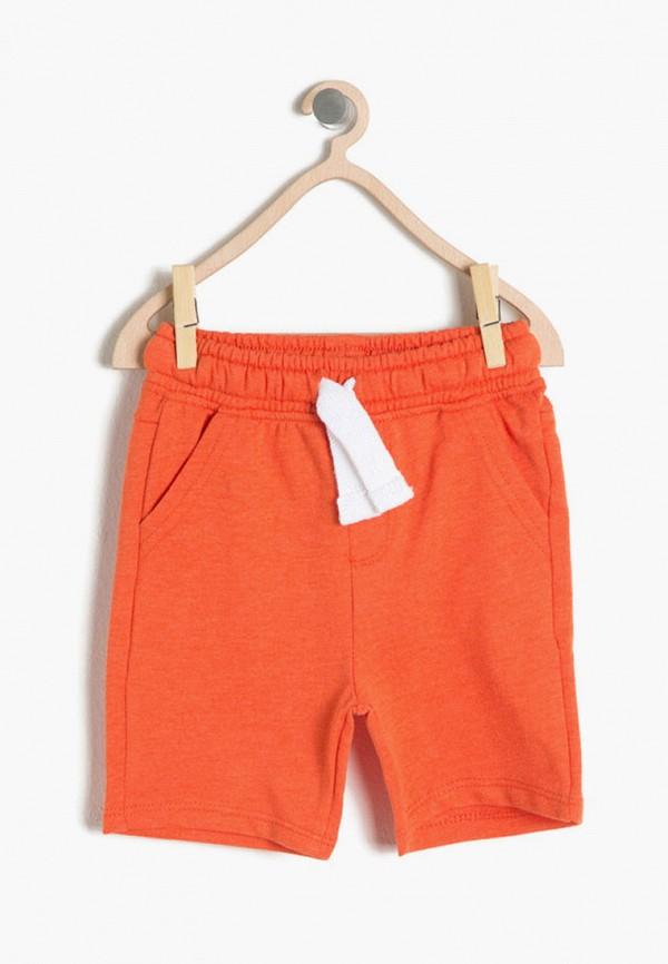 шорты koton для мальчика, оранжевые