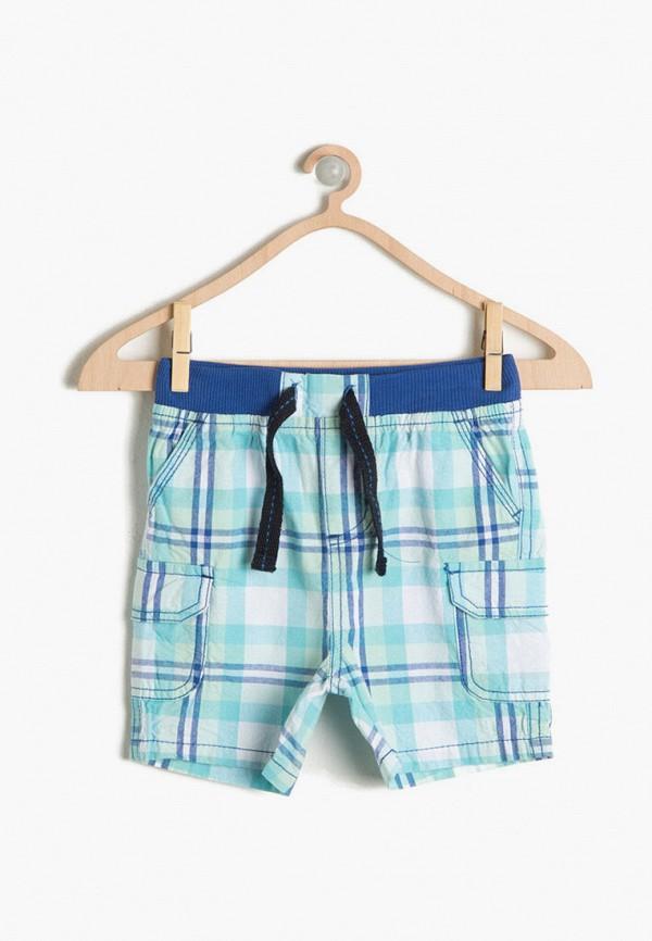 шорты koton для мальчика, бирюзовые