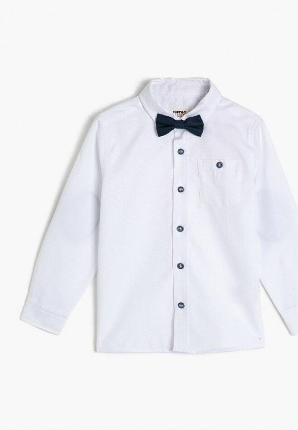 рубашка koton для мальчика, белая