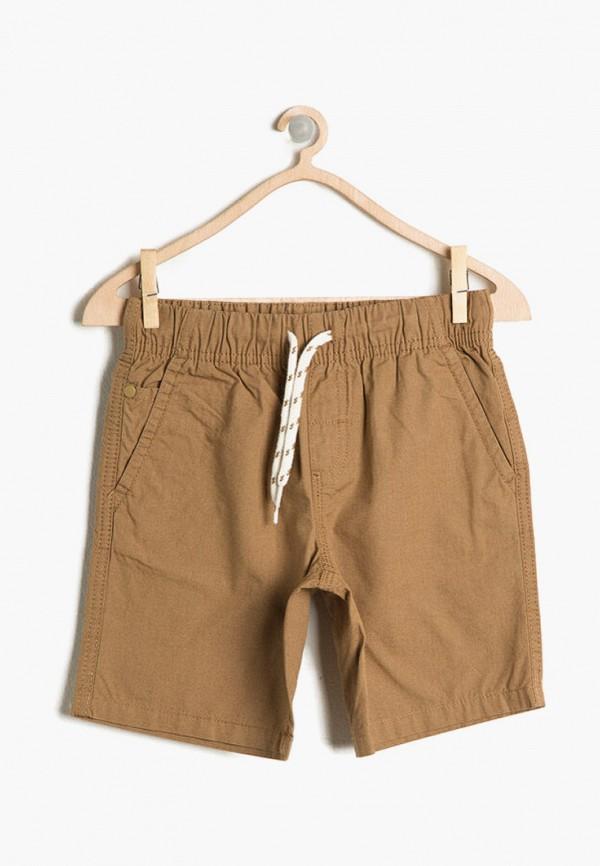 шорты koton для мальчика, коричневые