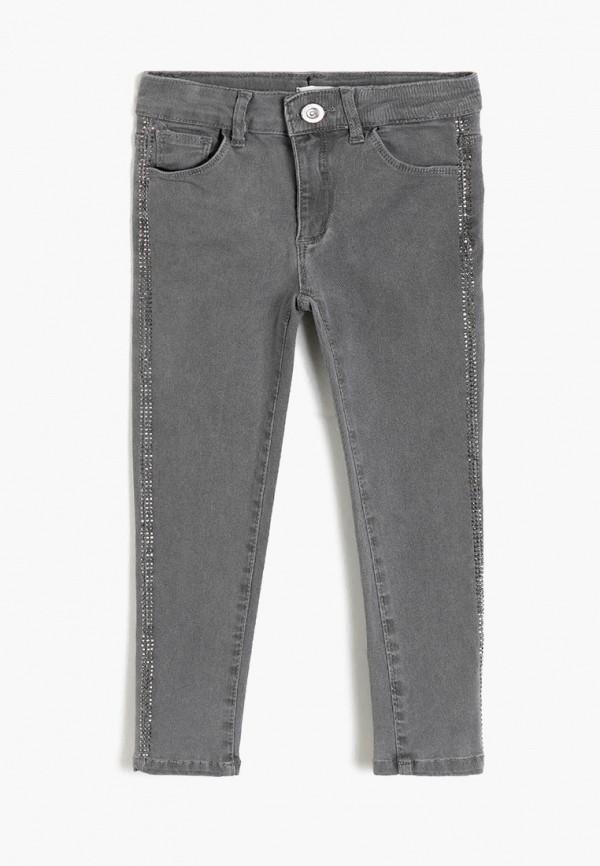 джинсы koton для девочки, серые