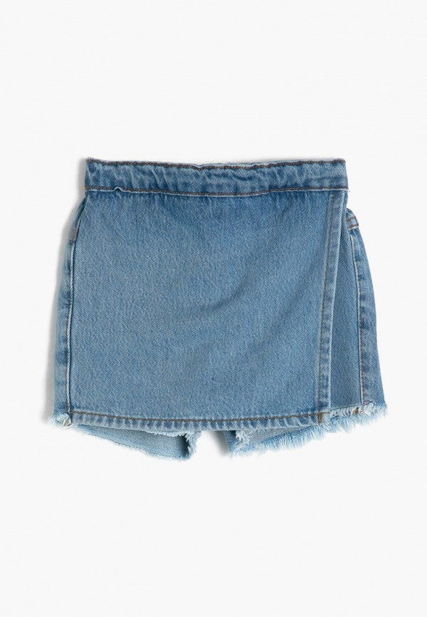 шорты koton для девочки, синие
