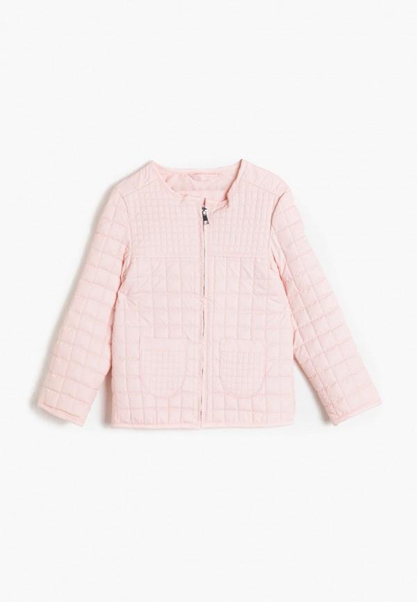 куртка koton для девочки, розовая