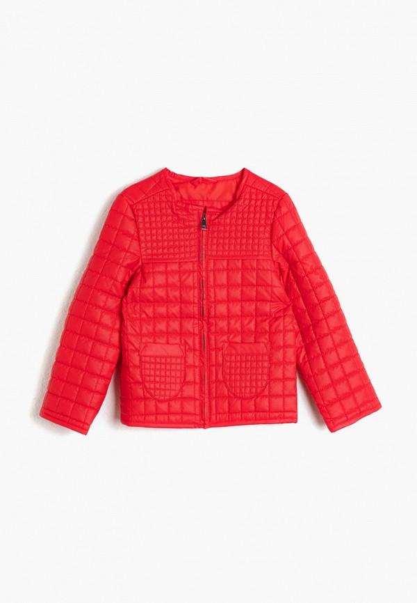 куртка koton для девочки, красная