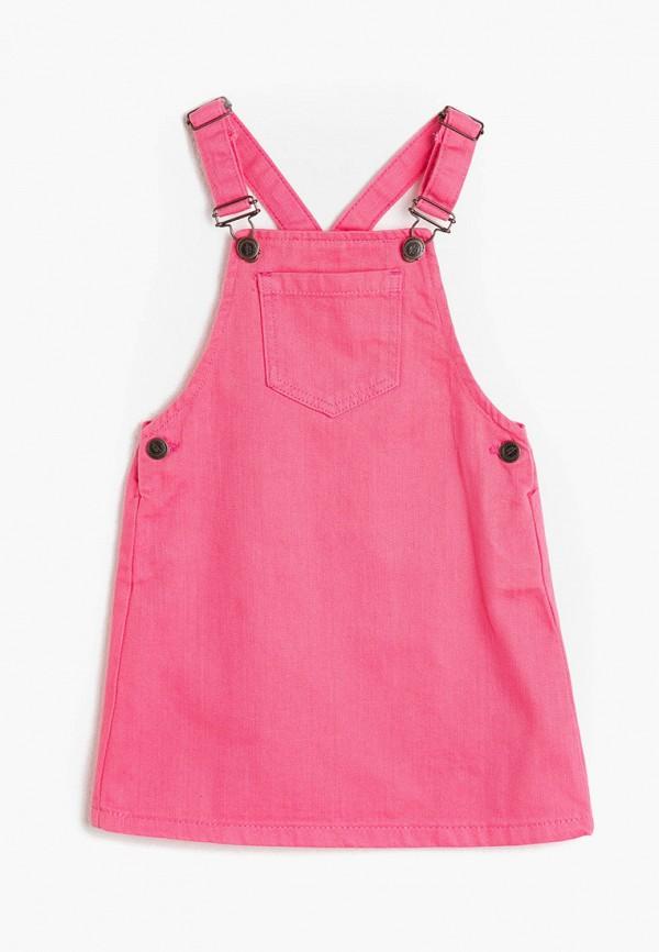 сарафан koton для девочки, розовый