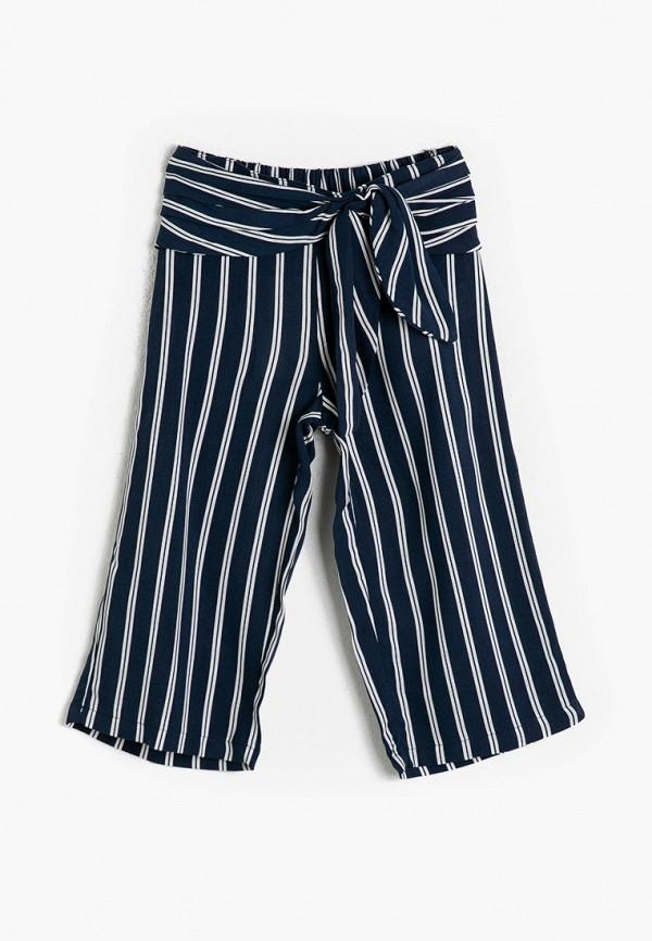 брюки koton для девочки, синие