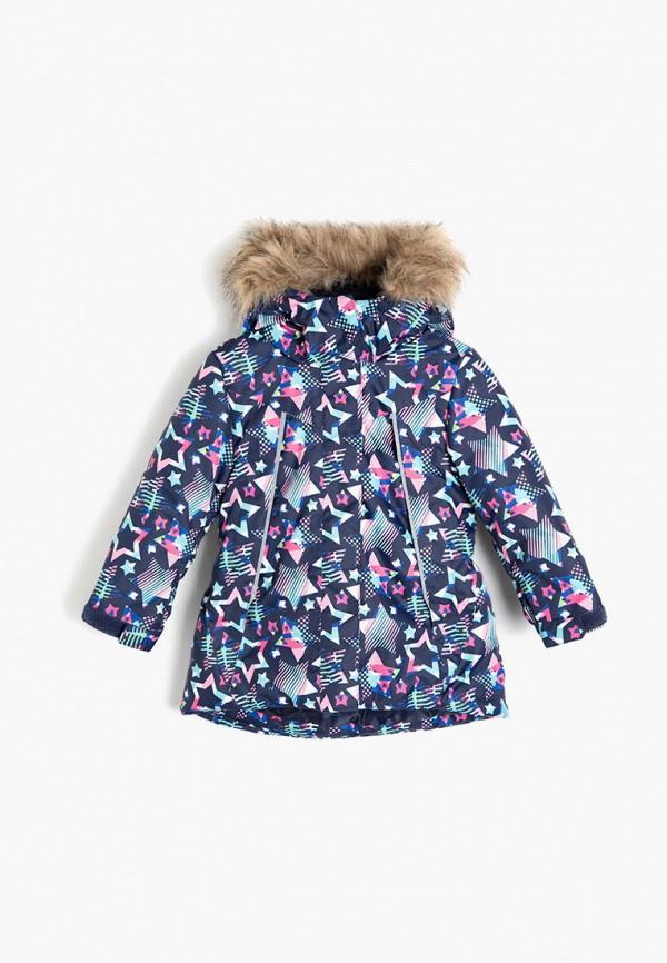 куртка koton для девочки, синяя