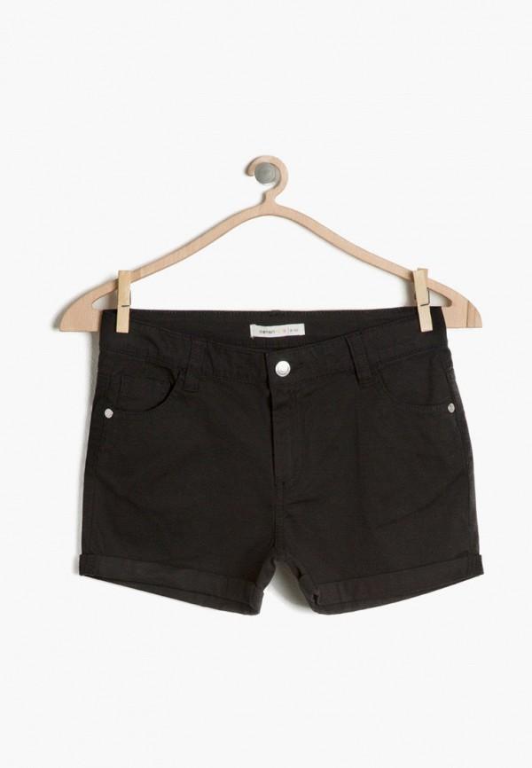 шорты koton для девочки, черные
