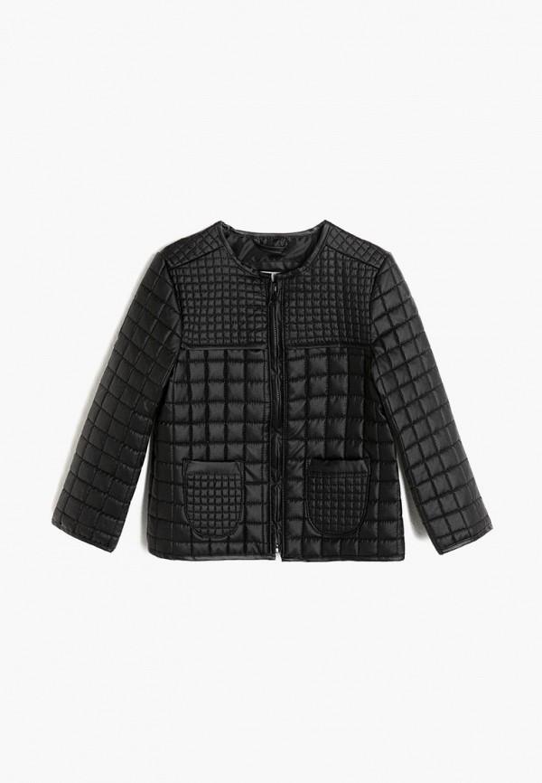 куртка koton для девочки, черная