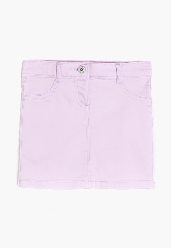 юбка koton для девочки, фиолетовая