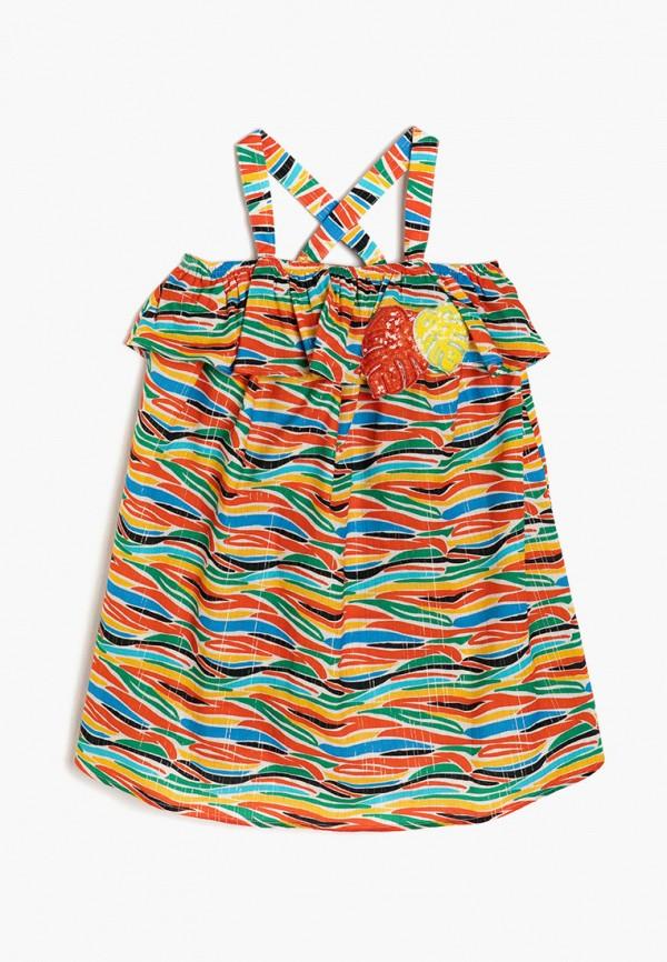 сарафан koton для девочки, разноцветный