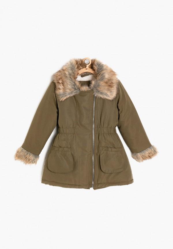 куртка koton для девочки, хаки