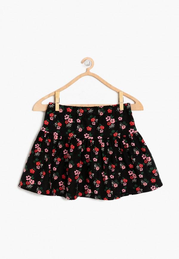 юбка koton для девочки, черная