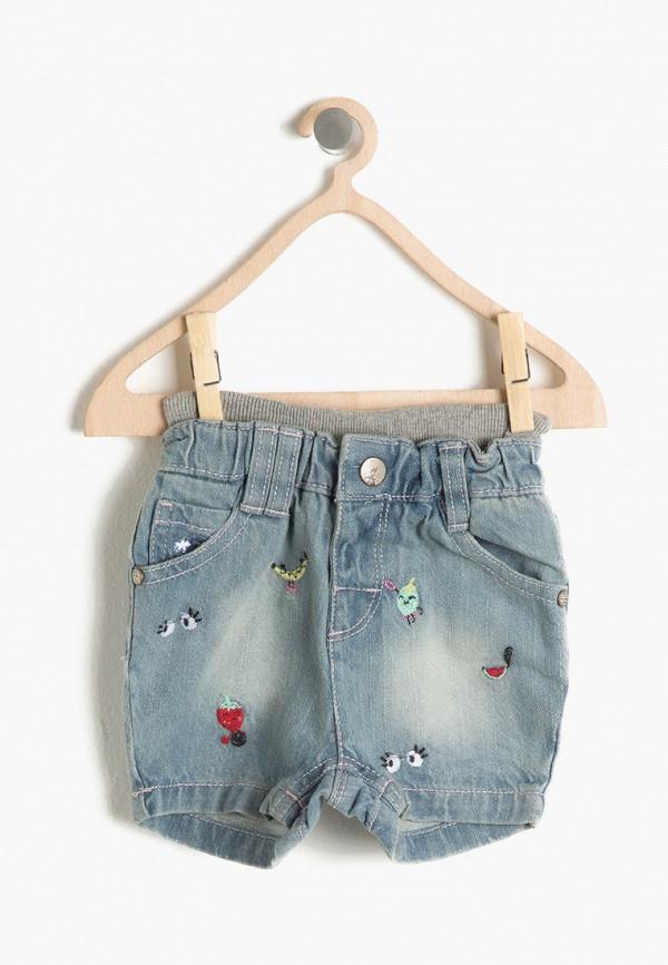 Шорты джинсовые Koton Koton 7YMG49707DD синий фото