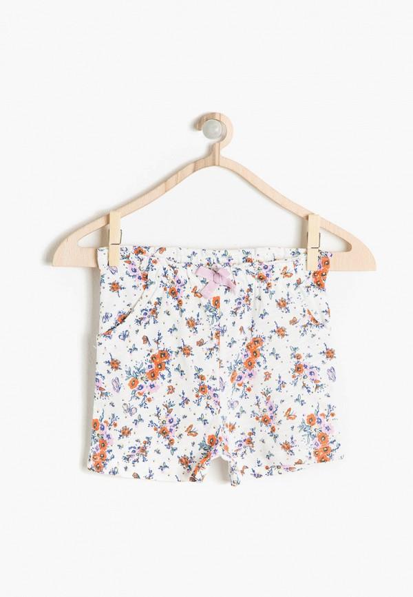шорты koton для девочки, белые