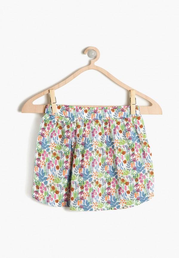 юбка koton для девочки, разноцветная