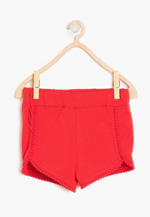 шорты koton для девочки, красные