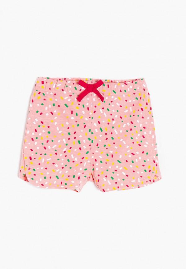 шорты koton для девочки, розовые