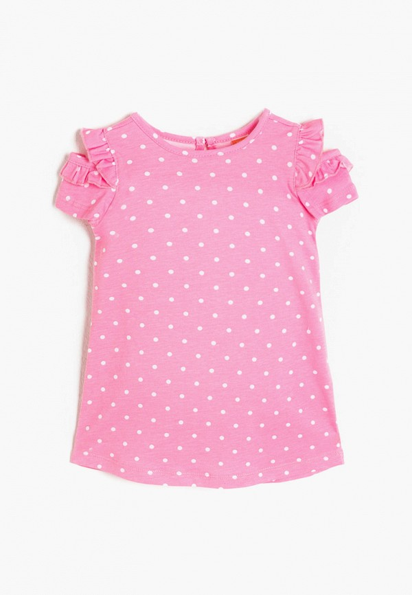 повседневные платье koton для девочки, розовое