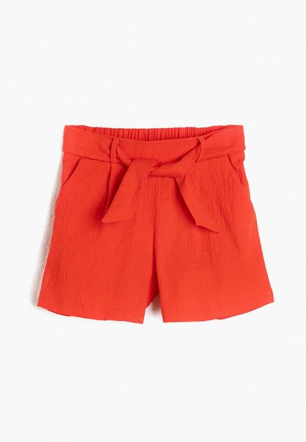 шорты koton для девочки, оранжевые
