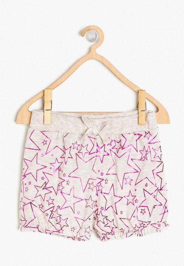 шорты koton для девочки, серые