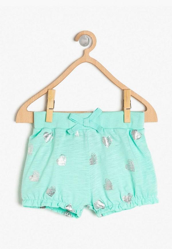 шорты koton для девочки, голубые