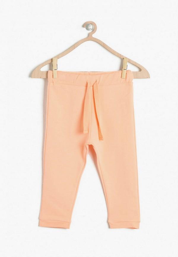 брюки koton для девочки, оранжевые